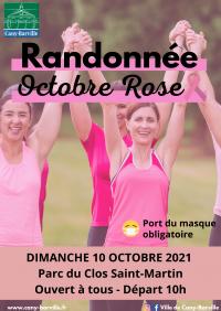 La randonnée d'Octobre Rose